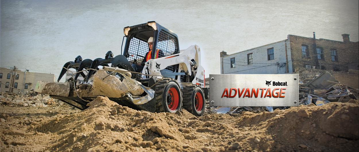Bobcat Advantage industrial grapple comparison videos and tests.