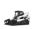 Bobcat T770 compact track loader.