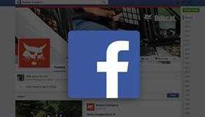 Facebook promo for live content at CONEXPO-CON/AGG.