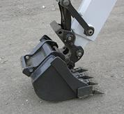 X-Change quick-tach mounting system from Bobcat.