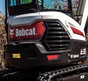 Bobcat compact (mini) excavator tailgate.