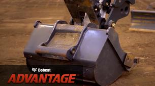 Bobcat compact (mini) excavator attachment comparison test video.