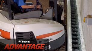 Bobcat compact (mini) excavator working in tight areas comparison video.
