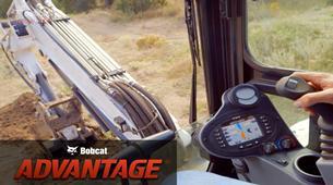 Deluxe instrumentation overview video for Bobcat compact (mini) excavators.