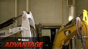 Bobcat compact (mini) excavator hose routing comparison video.