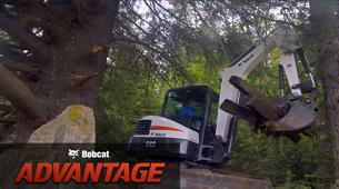 Backfill speed comparison overview video for Bobcat compact (mini) excavators.