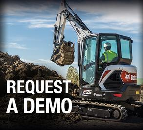 Bobcat compact equipment demo request.