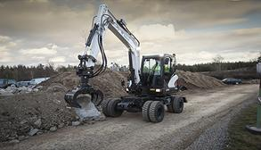 Bobcat Wheeled Excavator E57W