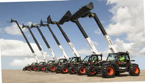 New Bobcat Telescopic Handler Construction Range