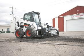 Bobcat All-Wheel Steer Loader