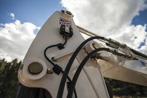 Bobcat depth check system sensors for Bobcat compact excavators.