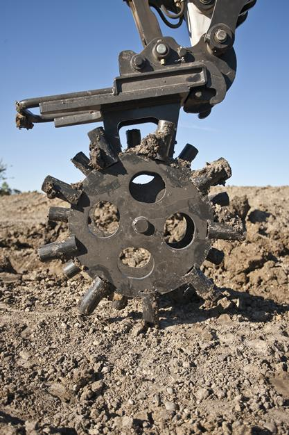 Packer Wheel Attachment Bobcat Company