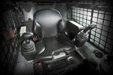 Bobcat loader controls on selectable joystick controls (SJC)