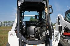 Bobcat compact track loader and skid-steer loader door.