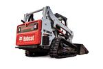 Bobcat T595 compact track loader on white background.