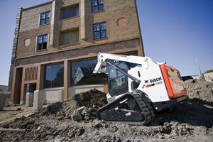 Bobcat compact track loaders with Ride Control.