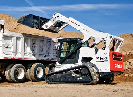 Bobcat T870 compact track loader.