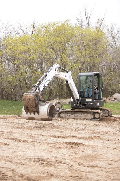 E55 Excavator