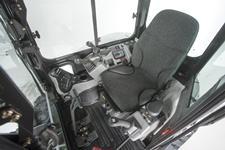 Bobcat compact excavator (mini excavator) cab/operator comfort
