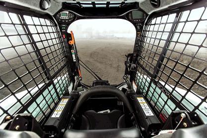Compact Track loader Interior