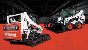 Bobcat T595 compact track loader and S595 skid-steer loader