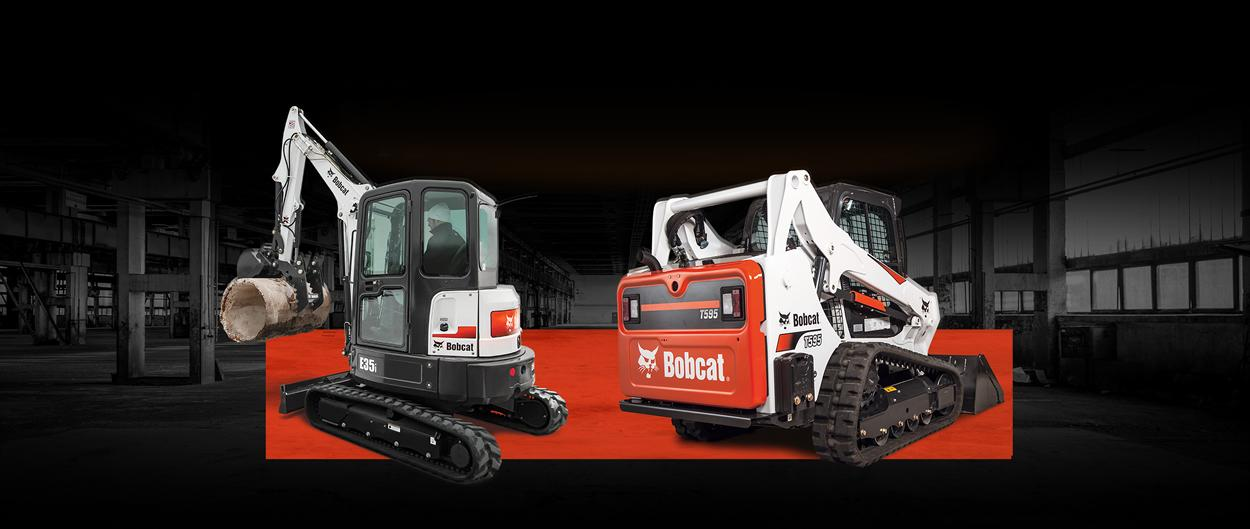 Bobcat compact equipment