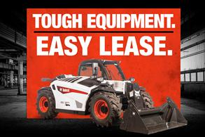 VersHANDLER telehandler leasing offer badge.