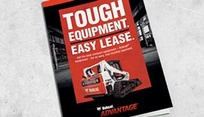 Bobcat leasing brochure.