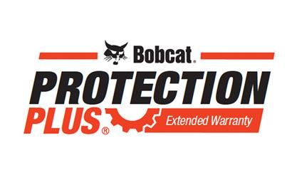Protection plus program for Bobcat equipment logo.