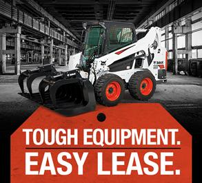Special leasing offers for Bobcat machines.