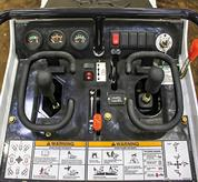 ISO joystick controls on Bobcat MT85 mini track loader.