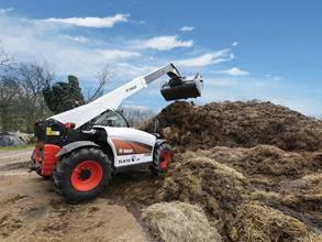 Bobcat Telescopic Loader TL470 with Grapple bucket