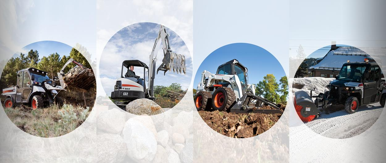 Genuine Bobcat attachment versatility and selection.