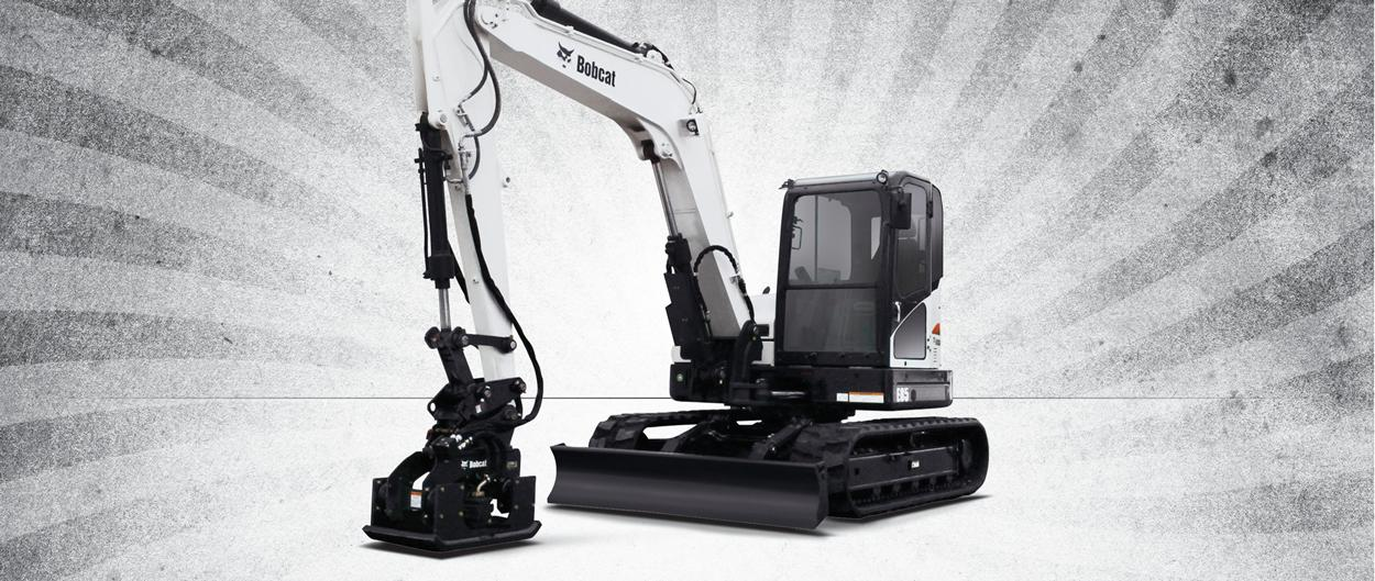 Bobcat fall financing rates and rebates for compact excavators plus free Bobcat driveline warranty offers page