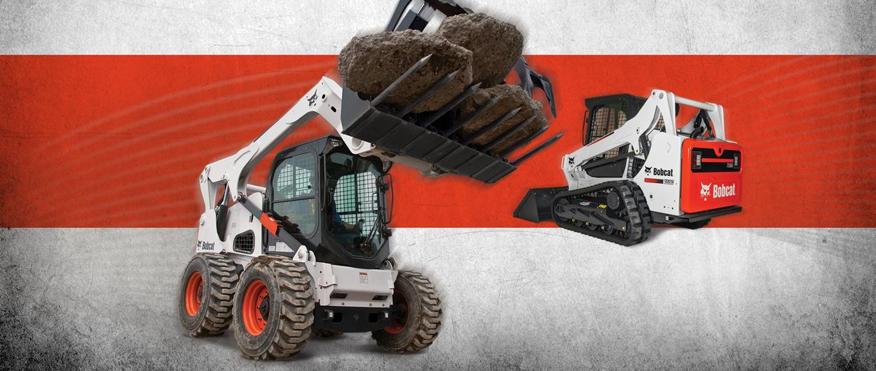 Bobcat skid-steer and compact track loader special offers.