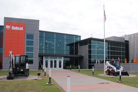 Exterior of Bobcat Acceleration Center in Bismarck, North Dakota.