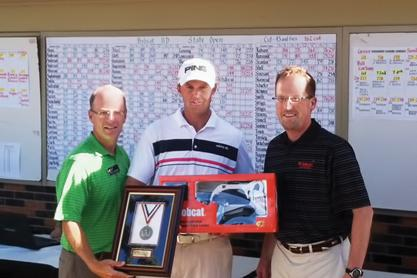 Ryan Lenahan, winner of the 2012 Bobcat ND Open.