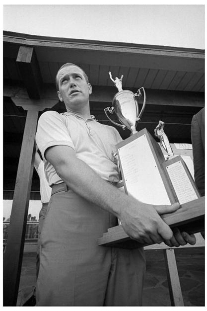 Eddie Langert, 1964 Open Champion.
