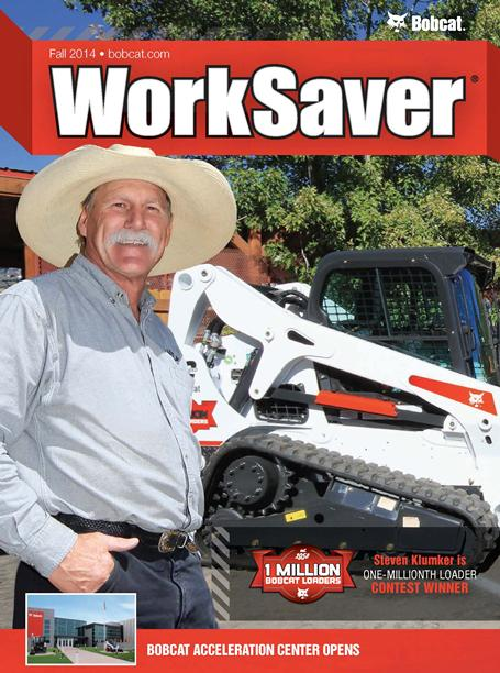 Cover from spring 2015 issue of WorkSaver magazine.