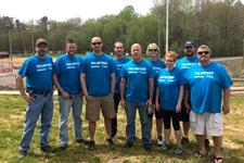Employees in Statesville, North Carolina, donate their time as part of Doosan Day of Service.