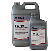 Synthetic engine oil for Bobcat loaders, excavators, telehandlers and UTVs