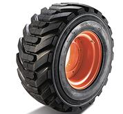 Bobcat skid-steer loader tires super float.
