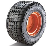 Bobcat skid-steer loader tires for turf and sand.