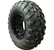Bobcat utility vehicle (UTV) mud tires.