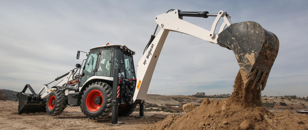 backhoe loaders b750