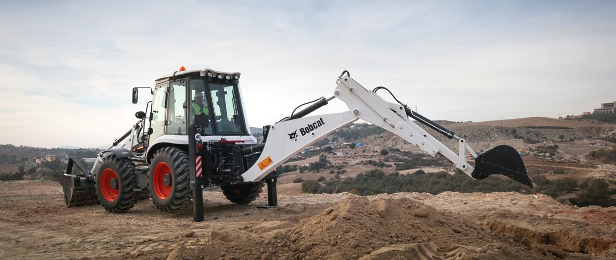 backhoe loaders b780