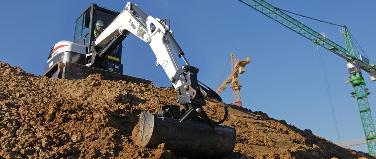 Bobcat compact (mini) Excavator E50