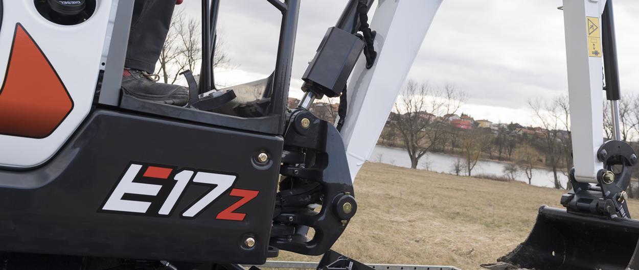 Bobcat-Kompaktbagger (Minibagger) E17z