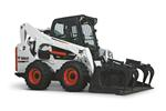 Bobcat S770 skid-steer loader with industrial grapple