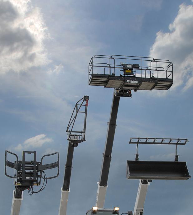 Anbaugeräte – vielfältige Möglichkeiten für Teleskoplader